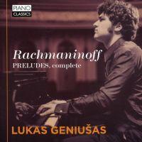 Serge Rachmaninov : Intégrale des préludes pour piano
