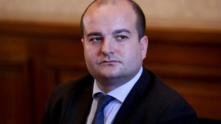 David Rachline, sénateur-maire FN de Fréjus.