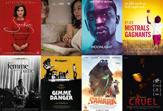 Affiches des films de la semaine