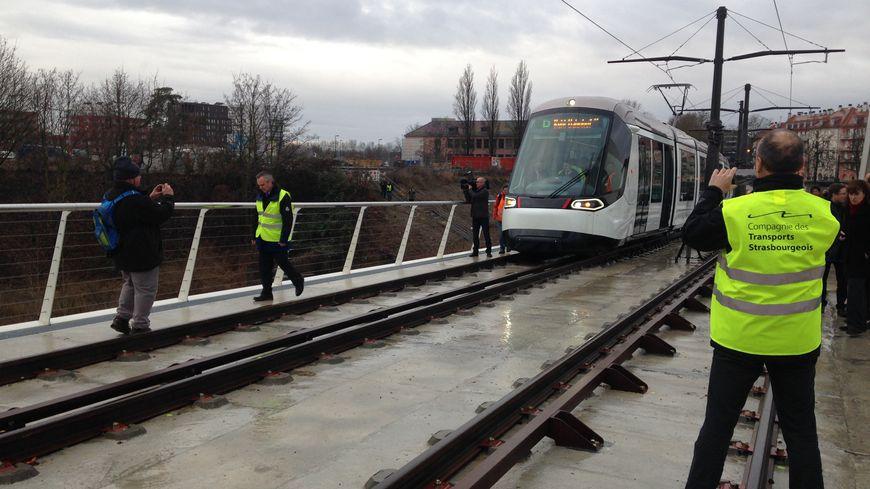 Les passagers pourront monter à partir du 29 avril dans le tram D entre Strasbourg et Kehl