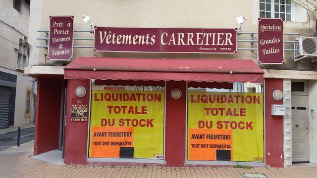 Une enseigne historique, en liquidation, du centre-ville de Cavaillon