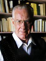 Portrait d'Alain Badiou en 1998.