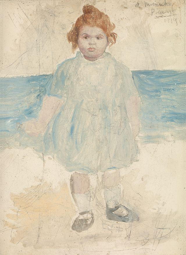 Pablo Picasso - Mademoiselle Rosenberg 1919