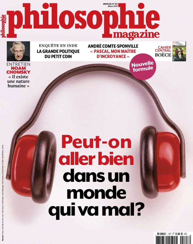 Philosophie Magazine Mars 2017