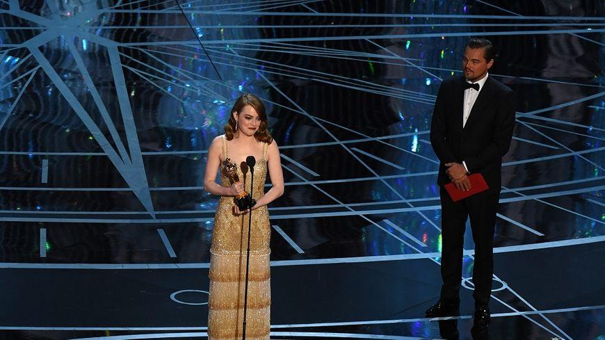 Emma Stone a été préférée à Isabelle Huppert pour l'Oscar de la meilleure actrice, grâce à sa prestation dans  La La Land.