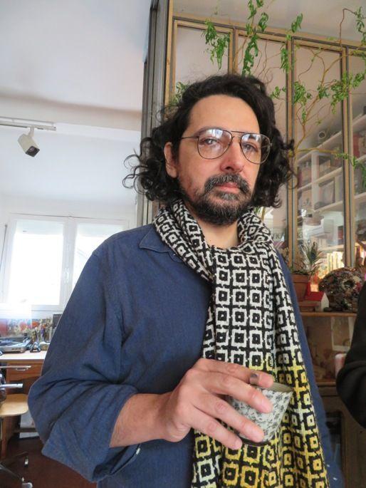 Bertrand Mandico, chez lui, 2017
