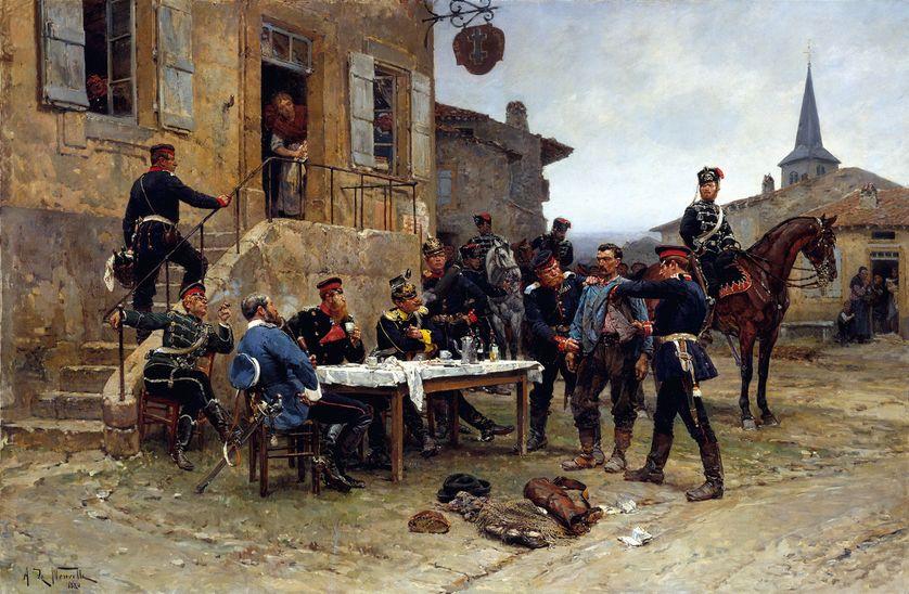 L'Espion, Alphonse de Neuville, 1880