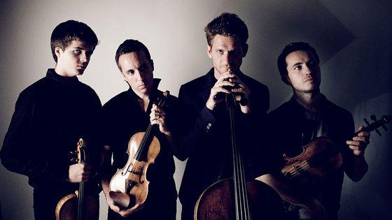 Le Quatuor Ebène par Julien Mignot