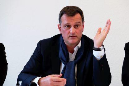 Louis Aliot, vice-président du Front National et député européen