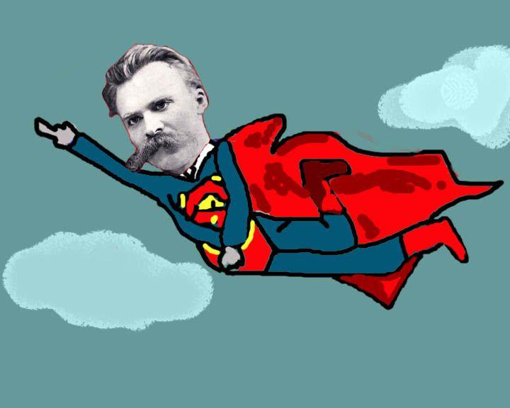 Nietzsche as a super hero