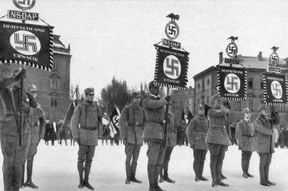 Parade nazi en 1923 à Munich