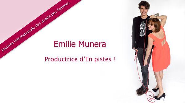 Journée des droits des femmes : Le choix d'Emilie Munera