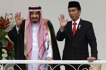 Salman d'Arabie Saoudite en Indonésie