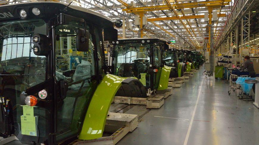 En images au c ur de l 39 usine de tracteurs claas du mans for Le cabine progetta le planimetrie