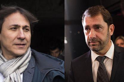 Christophe Castaner et Jérôme Guedj (montage)