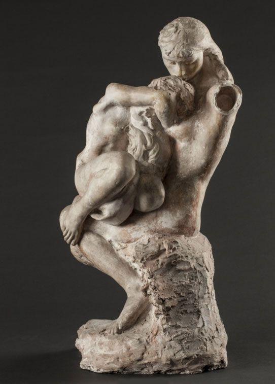 """""""Absolution"""", sculpture d'Auguste Rodin"""