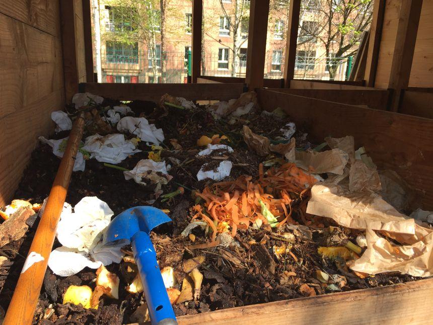 composteur du Pavillon de compostage du 13ème arrondissement de Paris