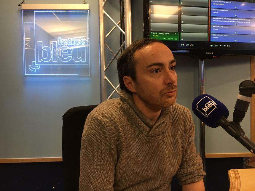 Thomas Couderette, du Cédis, invité de France Bleu ce lundi 13 mars.
