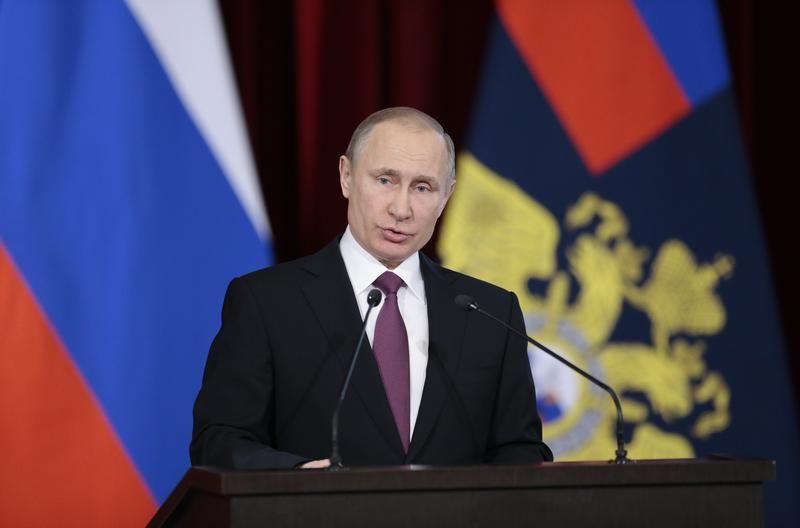 Le Président russe Vladimir Poutine ordonnait en décembre dernier le renforcement de la force de frappe nucléaire de la Russie pour l'année 2017.