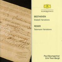 Variations et fugue pour piano sur un thème de Georg Philipp Teleman op 134 : Thème