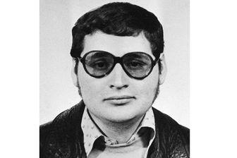 """Photo prise en 1970 de Illich Ramirez Sanchez alias """"Carlos"""""""