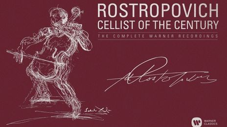 Rostropovitch cellist of the century The complete Warner recordings [WARNER CLASSICS]