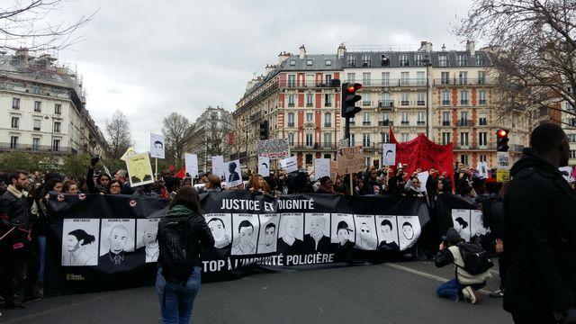la marche pour la justice et la dignité, le 19 mars à Paris