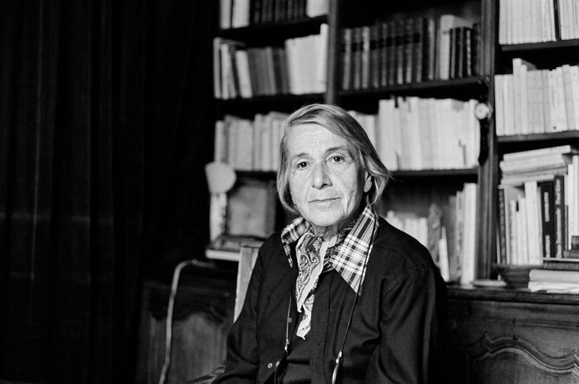 Nathalie Sarraute en 1976.