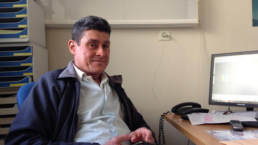 Jean-Félix Broussard, responsable du service de gastro-entérologie de l'hôpital d'Antibes.