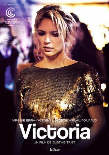 l'affiche de Victoria, un film de Justine Triet, 2016