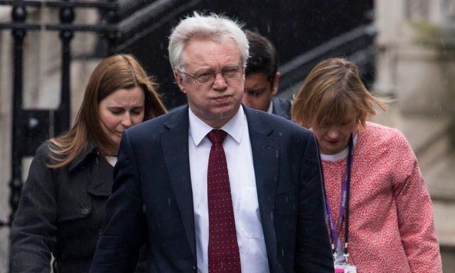 David Davis, l'un des négociateurs britanniques du Brexit