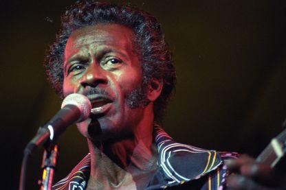 Chuck Berry le 1er juillet 1984.