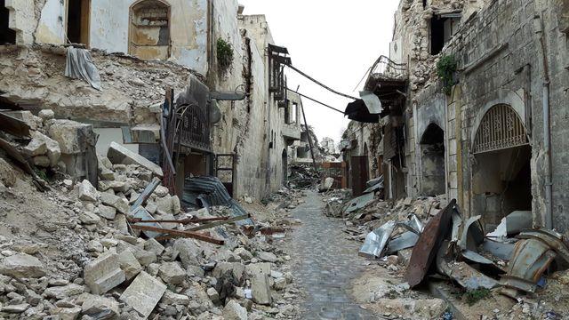 Une rue du vieil Alep