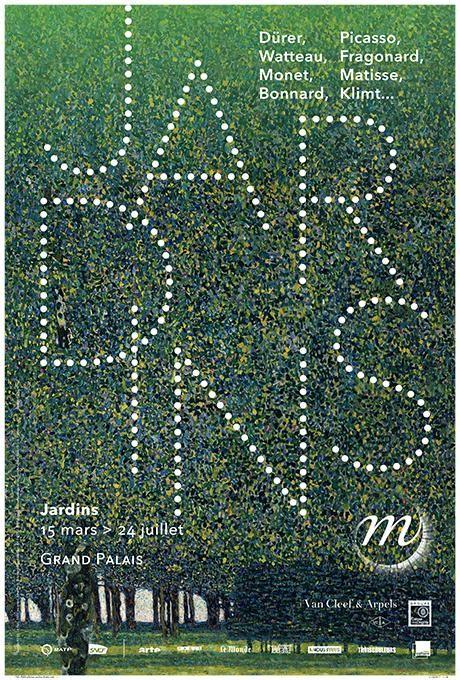 """Exposition """"Jardins"""" du 15 mars au 24 juillet, Grand Palais"""