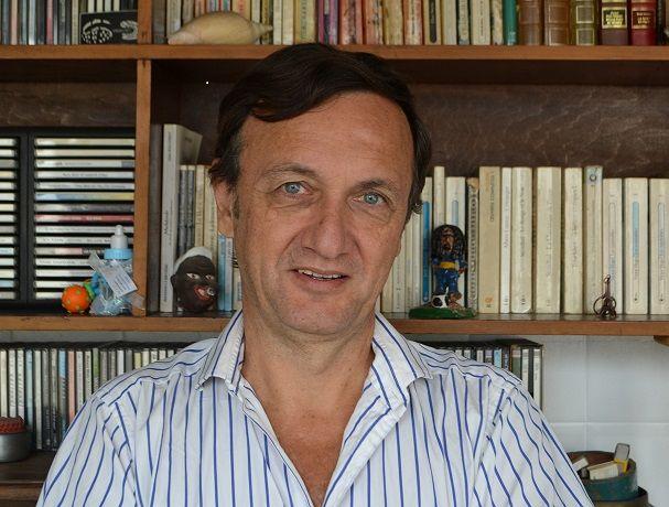 Eric Domergue, envoyé spécial permanent en Argentine pour le quotidien La Croix.