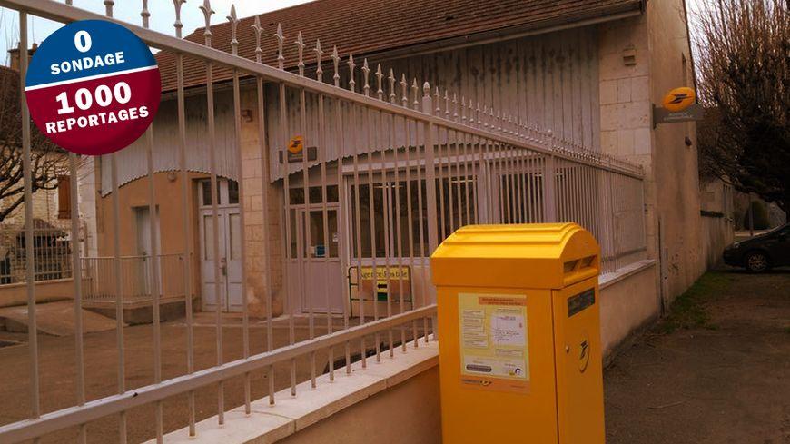 L'agence postale de Vincelles, dans l'Yonne.