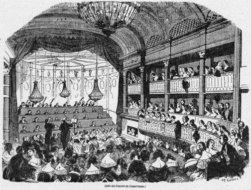 Salle des concerts du Conservatoire (Paris 1843)