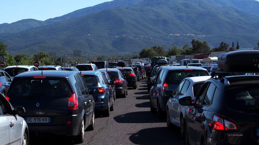 Plus de 10 kilomètres de bouchons sur l'A8 (photo d'illustration)