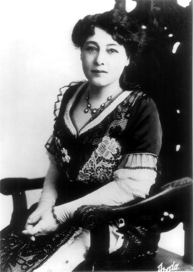 Alice Guy, pour certains historiens la première réalisatrice tous sexes confondus, en 1896