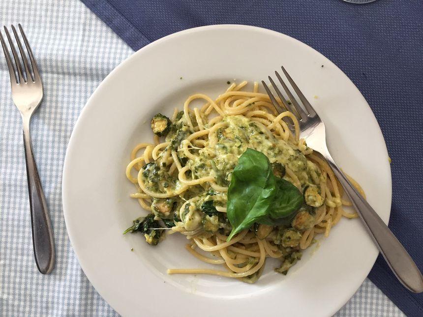 Autre recette traditionnelle de Marco: la pasta