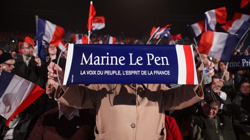 Ce militant a participé au meeting de Châteauroux avant la présidentielle.
