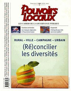 (Ré)concilier les diversités : rural, ville, campagne, urbain