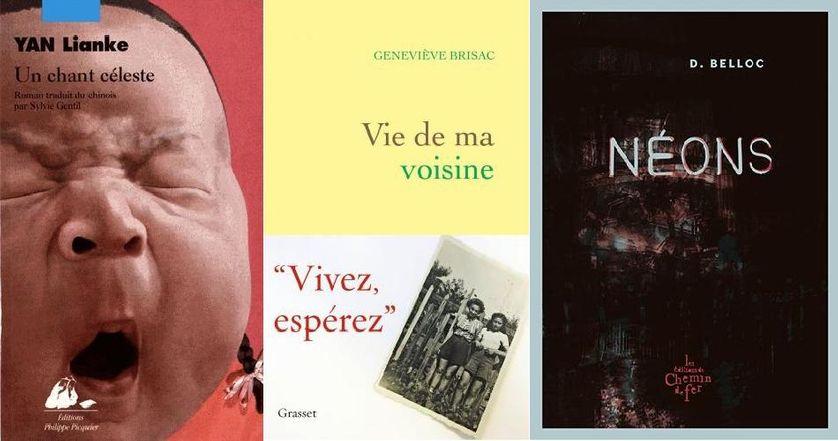 """Livres: """"Un chant céleste"""", """"Vie de ma voisine"""" et """"Néons"""""""
