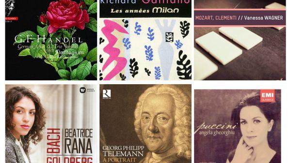 Actualité du disque : Richard Galliano, Jean-Sébastien Bach, Telemann, Haendel, Dusapin et Rummler