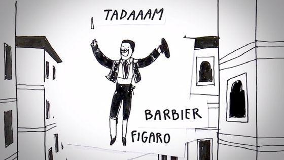 """Extrait de la vidéo """"Je sais pas vous"""" sur le Barbier de Séville de Rossini"""
