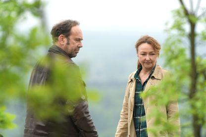 """Olivier Gourmet et Catherine Frot dans """"Sage femme"""""""