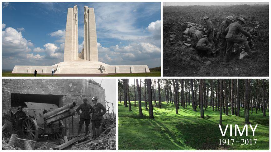 Le 9 avril 1917, les Canadiens lancent l'offensive contre les Allemands sur la Crête de Vimy. Trois jours plus tard, ils remportent la bataille