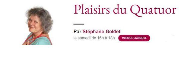 Plaisirs du Quatuor - France Musique