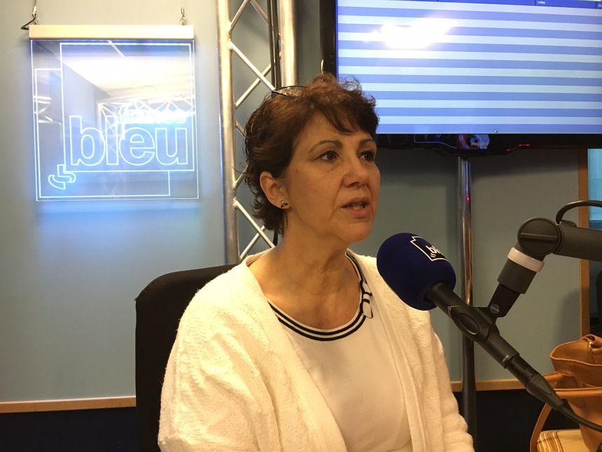 Nathalie Willig, la présidente de l'association l'Enfant Bleu à Toulouse invitée de France Bleu Toulouse.