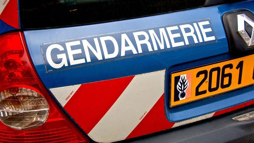 Un véhicule de gendarmerie. Illustration.